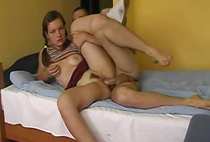 Polnisches Paar mag anal Sex