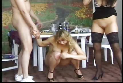 Polnische betrunkene Nutten