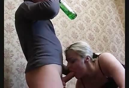Bier und Blowjob