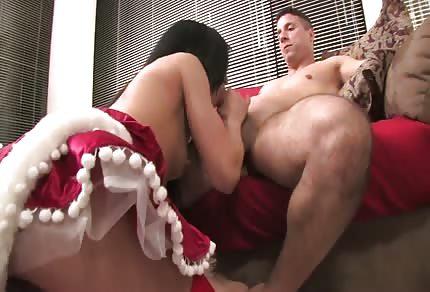 Sie liebt seinen Schwanz
