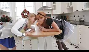Dienstmädchen