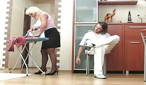 Ficken mit einer Hausfrau