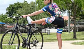 Massage nach dem Radfahren