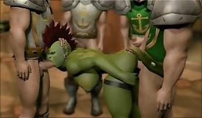 Porno im Wolrd of Warcraft