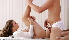 Massage endete mit heißem Sex
