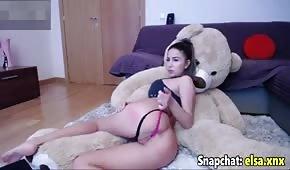 Sexy Blondine auf Sex Webcam