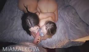 In einem zarten Dreieck mit Valentina Nappi und Mia Malkova
