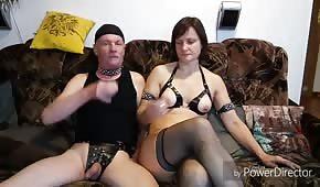 Er fickte seine reife Frau in das Arschloch