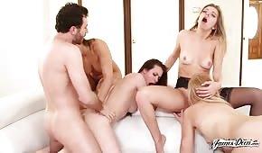 Gruppenporno mit sexy Ladies